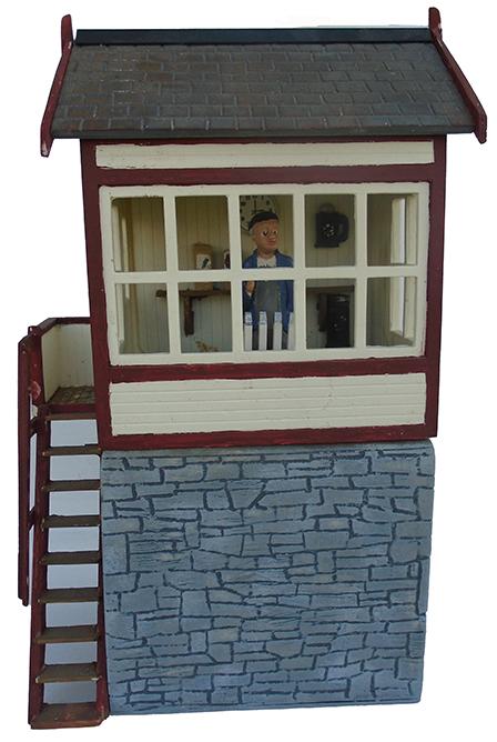 High Level Slate Signal Box