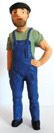 Figure - F114 - Painted