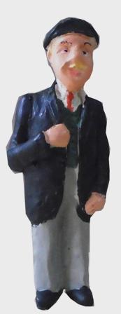 Figure - F102 - Painted