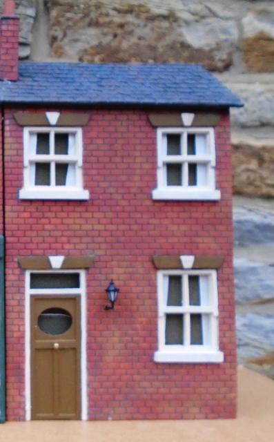 Brick Terrace - Low Relief