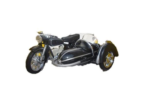 BMW Motor Cycle And Sidecar