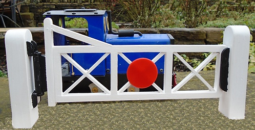 Double Level Crossing Gates