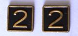 Cab Side Number - 2