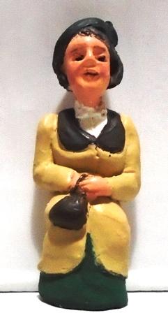 Figure - F514 - Painted