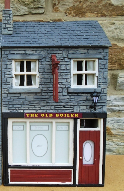 Slate Pub/Shop - Low Relief