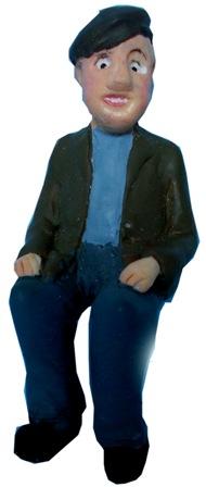 Figure - F611 - Painted