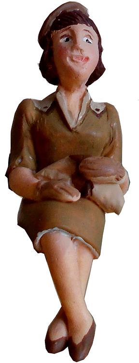 Figure - F502 - Painted