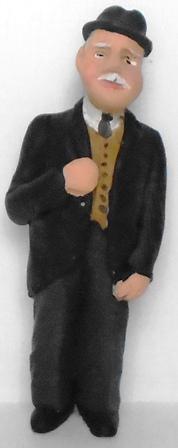 Figure - F204 - Painted
