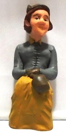 Figure - F513 - Painted