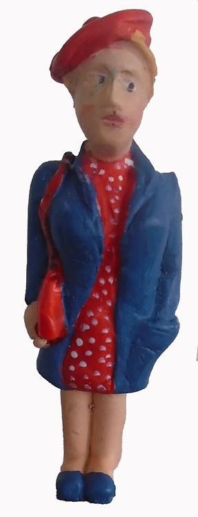 Figure - F303 - Painted