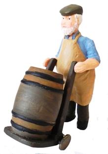 Barrel Man & Truck