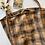 Thumbnail: light brown tartan bucket