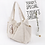Thumbnail: oversized cotton tote
