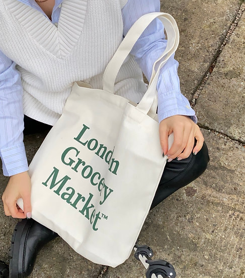 london grocery market tote