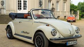 Volkswagen traz o Fusca de volta, mas agora ele será elétrico