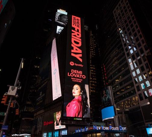 Autoaceitação é tema da nova musica de Demi Lovato: 'I Love Me'