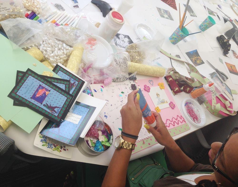 Artist Art Healing Workshops for Survivors at NYC Mayo's Office To Combat Domestic Violence.