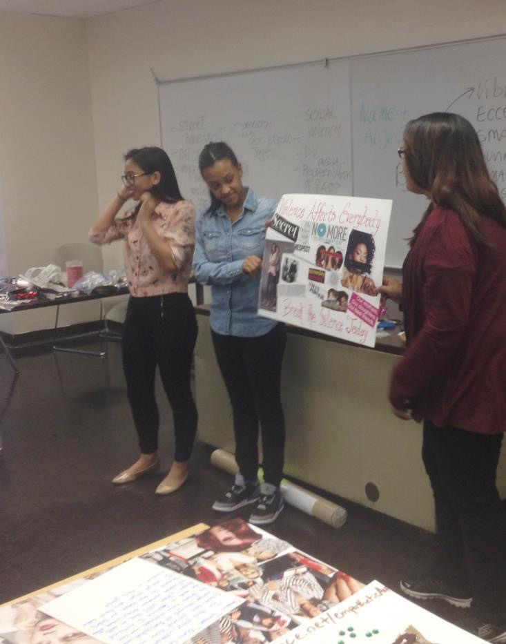 Liberation and Empowerment Workshop at Hunter College in New York City.