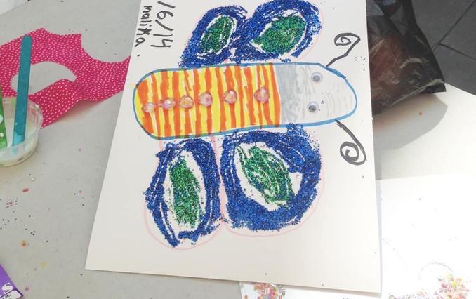 Artist Empowerement Children Workshop. Art for Change.