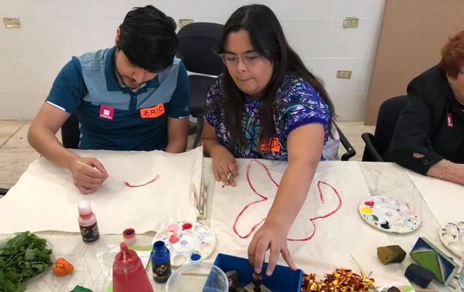 Artist Art Healing Sensorial Workhops at MARCO Museum in Monterrey, Mexico