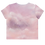 Pink Nuages Crop Tee Back