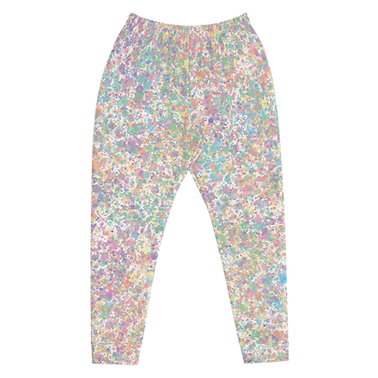 Droplets Pastel Joggers Front