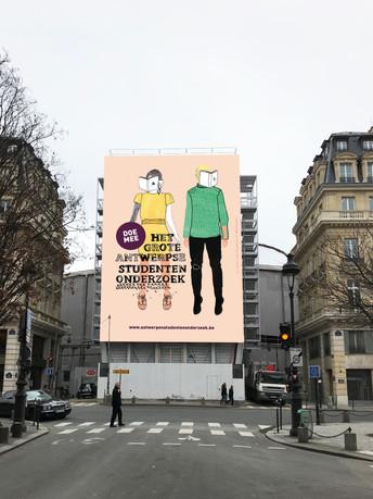 Poster het Grote Antwerpse Studentenonderzoek