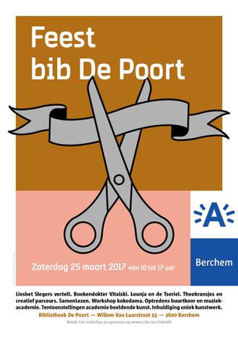 Poster & invite Bib De Poort