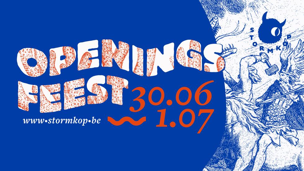 Banner Openingsfeest