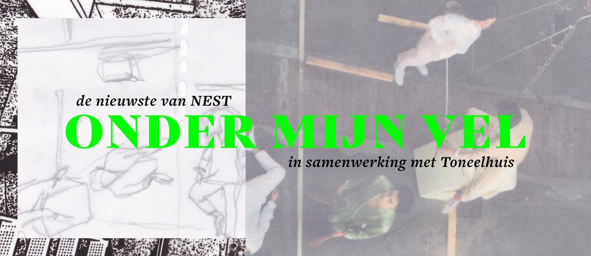 Banner NEST / Onder mijn vel
