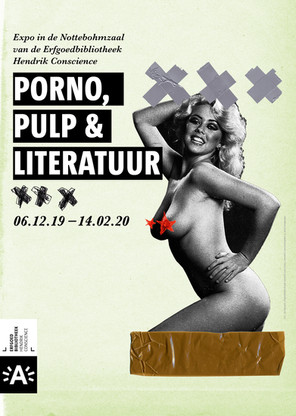 Affiche Expo Porno Pulp & Literatuur