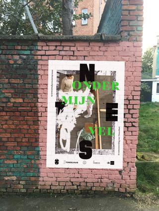 Poster Onder mijn vel
