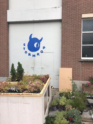 Logo Stormkop / Mural
