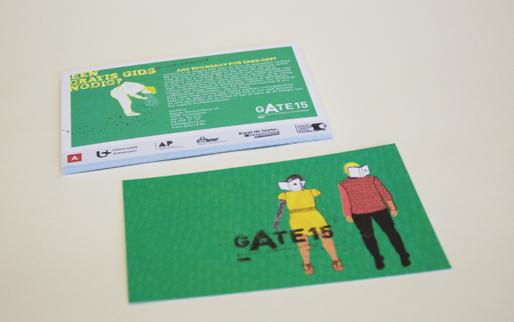 Post card Studentengids Antwerpen