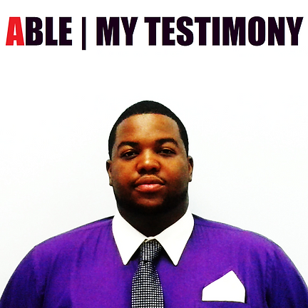My Testimony the Debut Album from Christian, Gospel, and Hip Hop rapper Able was released in 2015, under the label Mercy Time Records.