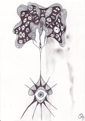 EYE SEED - DARK FLOWERS serie