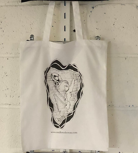 FORGIVENESS TOTE BAG WHITE