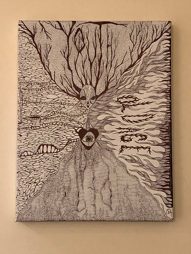 CYCLE OF LIFE canvas
