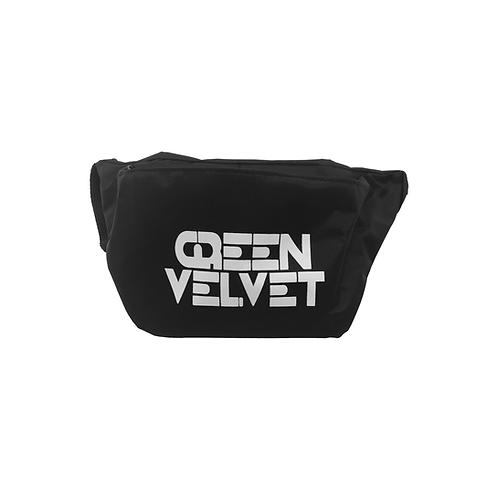 Green Velvet Fanny Pack