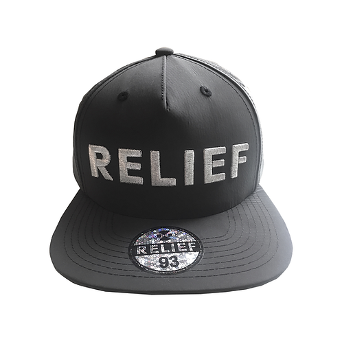 Reflective Relief Snapback (Black)
