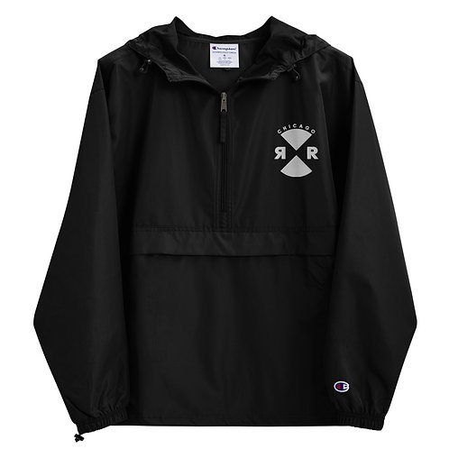 Relief Embroidered Champion Packable Jacket