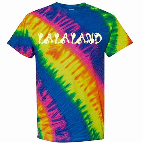 La La Land Tilt Tie-Dye Glow -n- Dark Tee