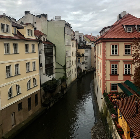 Prague is beautiful!