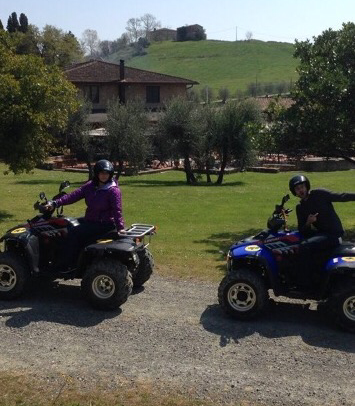 Bought tickets to go ATVing in Italy today 😀😀😀