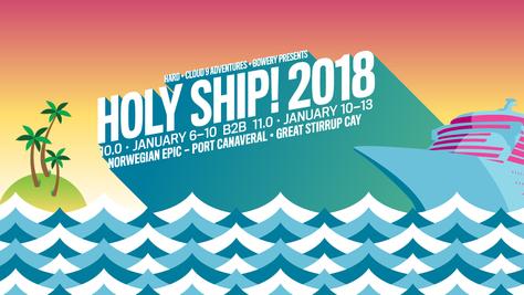 Holy Ship in January?