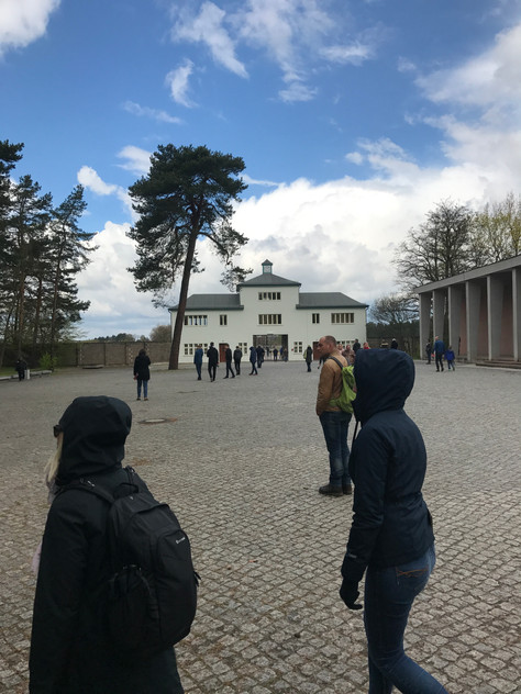 Sachsenhausen Concentration Camp Outside of Berlin