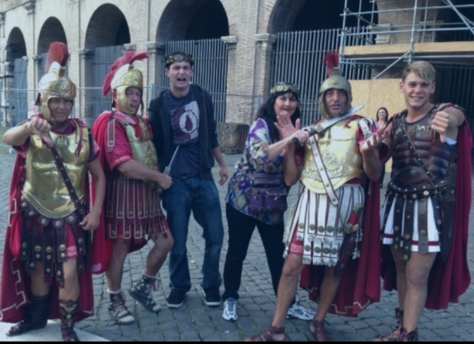€100 for this picture in Rome SMH
