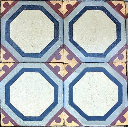 Cementine quadrate decorate OTT20