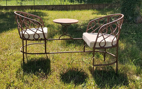 Panchina vintage in ferro FER330