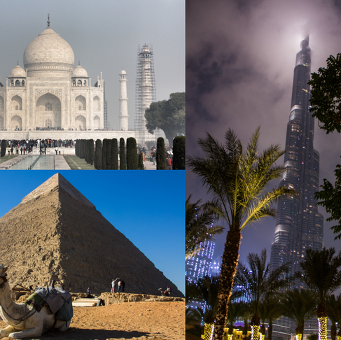3 world wonders in 13 days